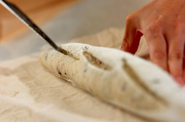 十六穀のバゲットの作り方の手順8