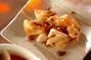 乱切りレンコンのザーサイ炒めの作り方の手順