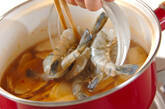 ゴボウのエスニックスープの作り方5