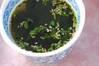 ワカメスープの作り方の手順