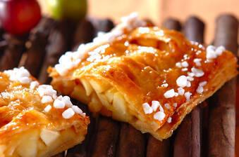 リンゴと柿のパイ