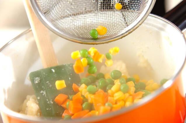 おからの満点サラダの作り方の手順3
