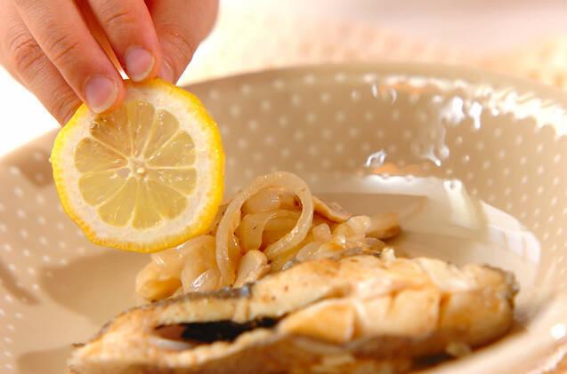 カラスガレイのレモン蒸しの作り方の手順6