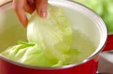ゆでレタスサラダの作り方4