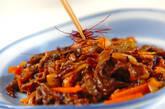 牛肉とキムチの炒め物の作り方6