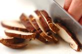 牛肉とキムチの炒め物の下準備3
