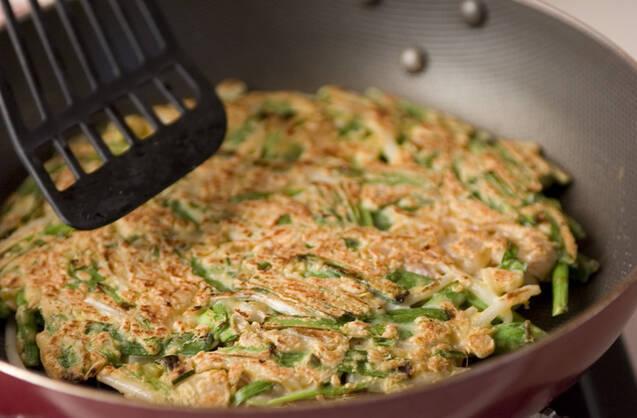 豚肉とニラのおやきの作り方の手順3