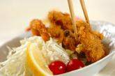 カキとエビのフライ・タルタルソースの作り方4