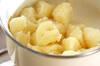 粉ふきイモのチリメン和えの作り方の手順3