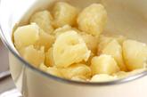 粉ふきイモのチリメン和えの作り方2