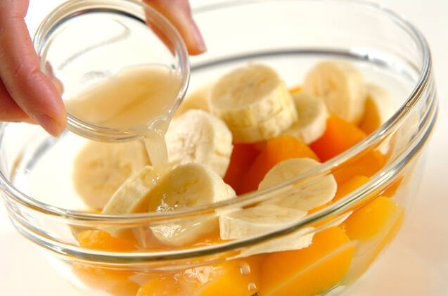 フルーツサラダの作り方の手順1