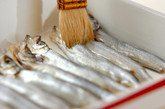 焼きシシャモの甘酢漬けの作り方1