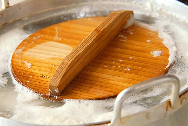 聖護院大根とお揚げの炊いたんの作り方の手順1