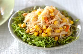 春雨のゴマ酢サラダ
