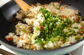 アサリ炒飯の作り方3