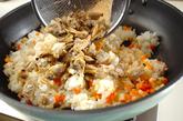 アサリ炒飯の作り方2