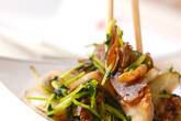 牛肉とキノコの炒め物の作り方8