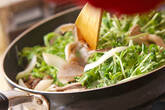 牛肉とキノコの炒め物の作り方6