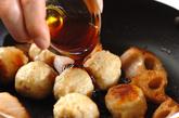 レンコンと肉団子の照り焼きの作り方3