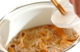トロトロかき玉汁の作り方1