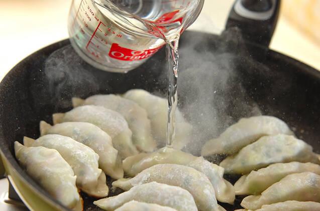 大きなキャベツ餃子の作り方の手順7