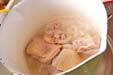 おすましのお雑煮の下準備2