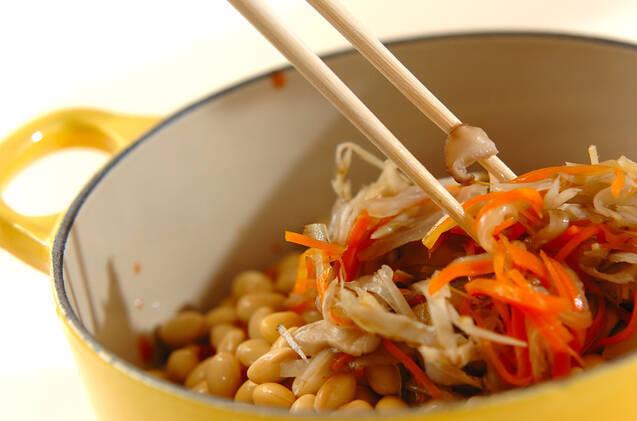 大豆と野菜のトマト煮込みの作り方の手順4