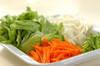 たっぷり野菜のスープの作り方の手順1