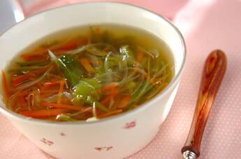 たっぷり野菜のスープ