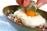 納豆のとろろがけの作り方1