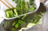 ホタテのカラシ酢みそ和えの作り方1