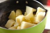 タコとジャガイモのマヨサラダの作り方1