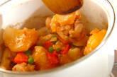 ほろほろ手羽元とほくほくジャガイモの煮物の作り方10
