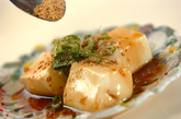 ピリ辛蒸し豆腐の作り方3