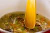 中華風卵白スープの作り方の手順4