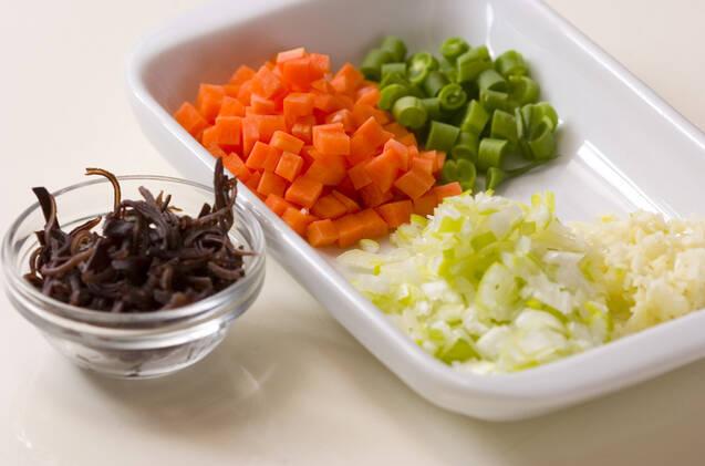 中華風卵白スープの作り方の手順1