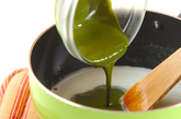 フルフル抹茶豆乳デザートの作り方1