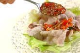 豚しゃぶのトマトミョウガソースの作り方4