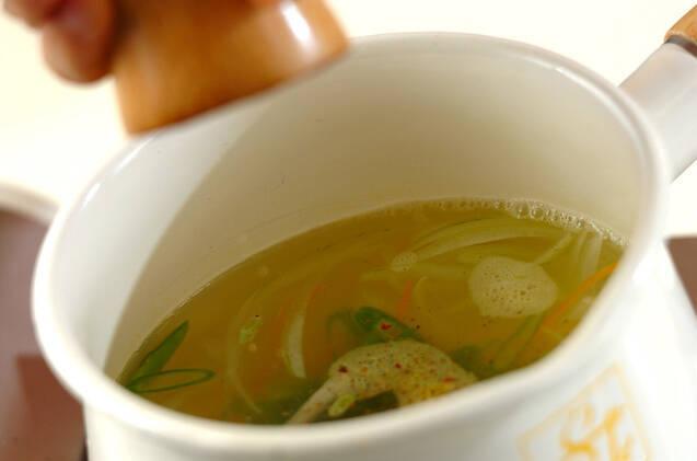 ベジタブルスープの作り方の手順5