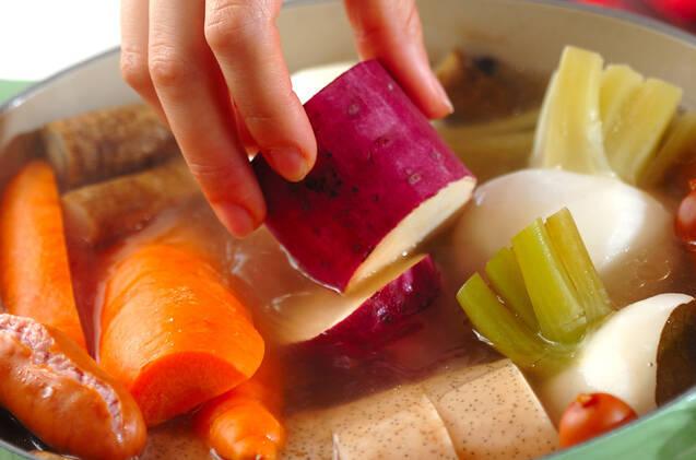 冬野菜のシンプル煮込みの作り方の手順6