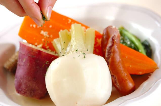 冬野菜のシンプル煮込みの作り方の手順7