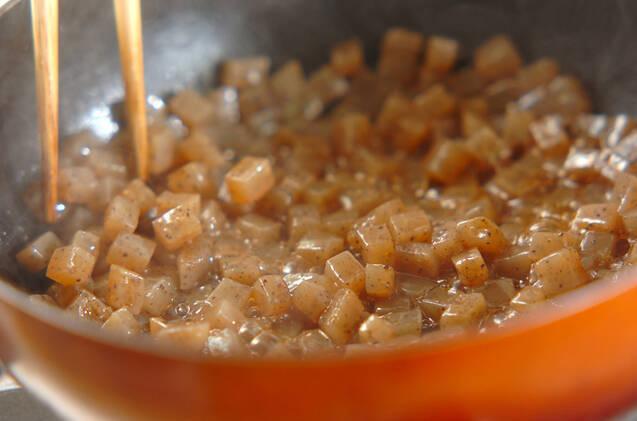 コンニャク入り肉団子の作り方の手順1