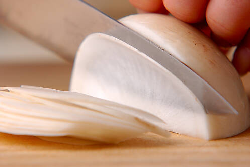 カブのユカリ和えの作り方の手順1