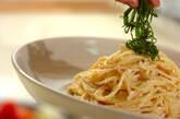 明太クリームスパゲティーの作り方3