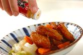 揚げ天と白菜のくったり煮の作り方2