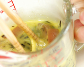 ひじき入り卵焼きの作り方1