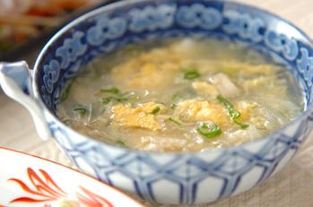 大根とホタテのスープ