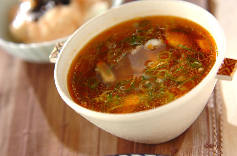 4.サンラータンスープ