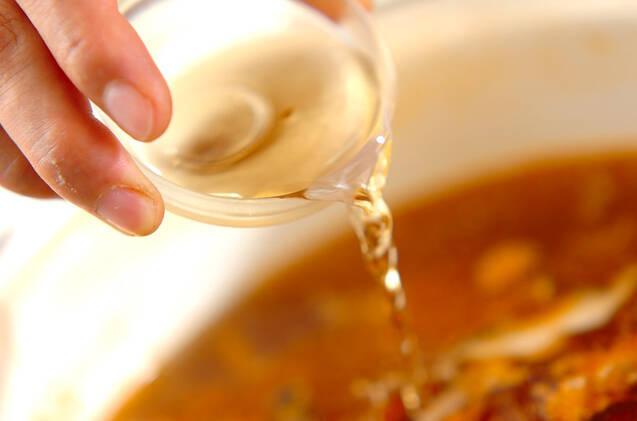 サンラータンスープの作り方の手順5