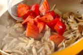 キノコのスパゲティーの作り方3